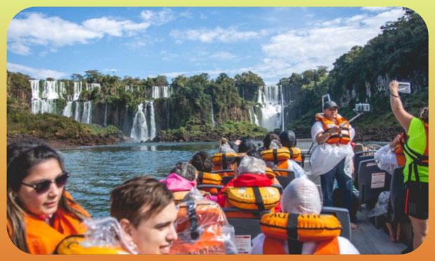 """Iguazú récord  Comercios esperan """"derrame"""""""